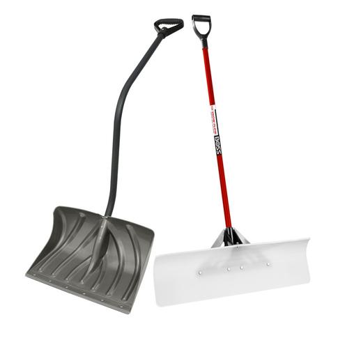 safe sidewalk shoveling